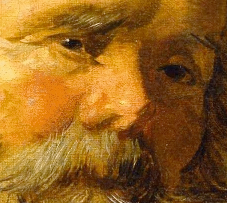 an example of painting wet into wet, by  17th c.  franz hals