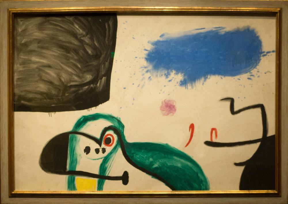 a miro painting ca. 1968