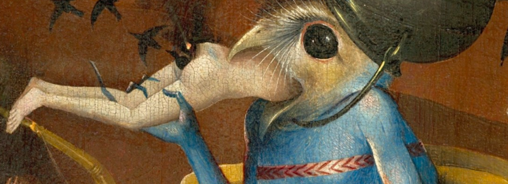 detail from a  bosch  painting