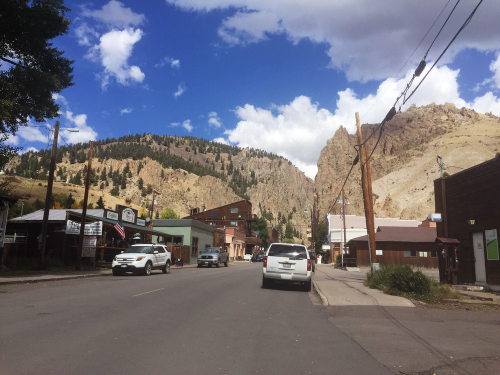 creede. on the left: the coffee shop where i'm currently sitting