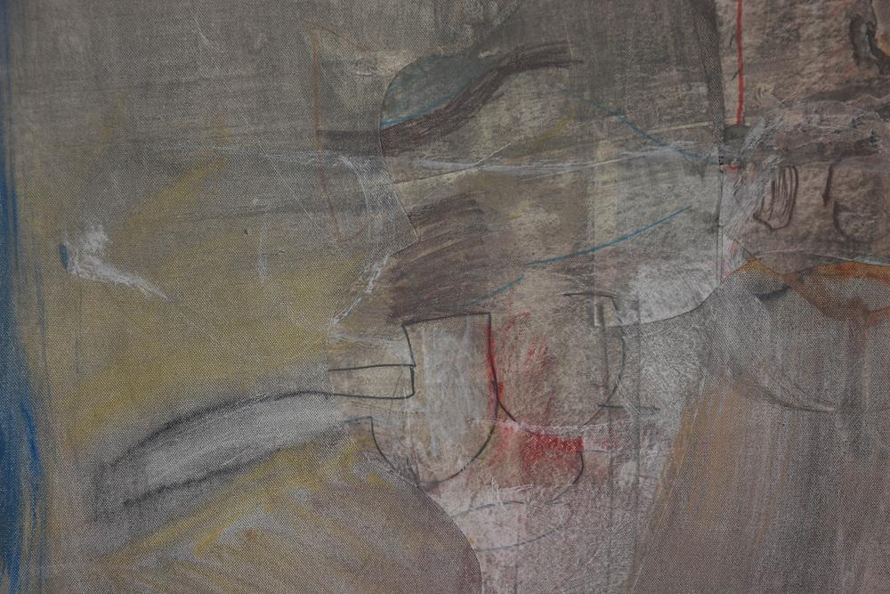 "DETAIL :  grey 4 , 56x68"" mixed media on canvas"