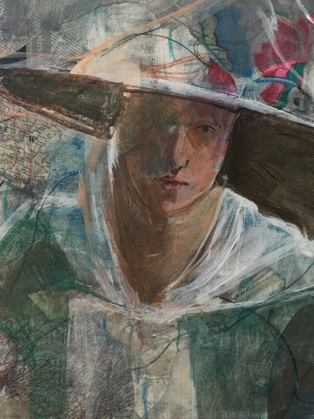 DETAIL -grey8-the girl with the flute