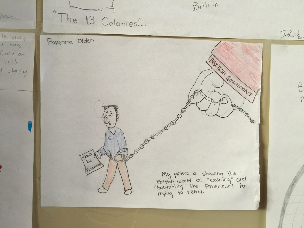 Drawings By Middle School Kids Philip Tarlow