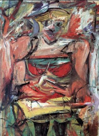 deKooning   woman V  1952-3