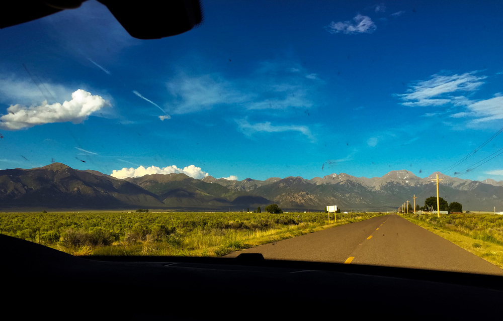"returning to crestoen from salida on the ""t road"""