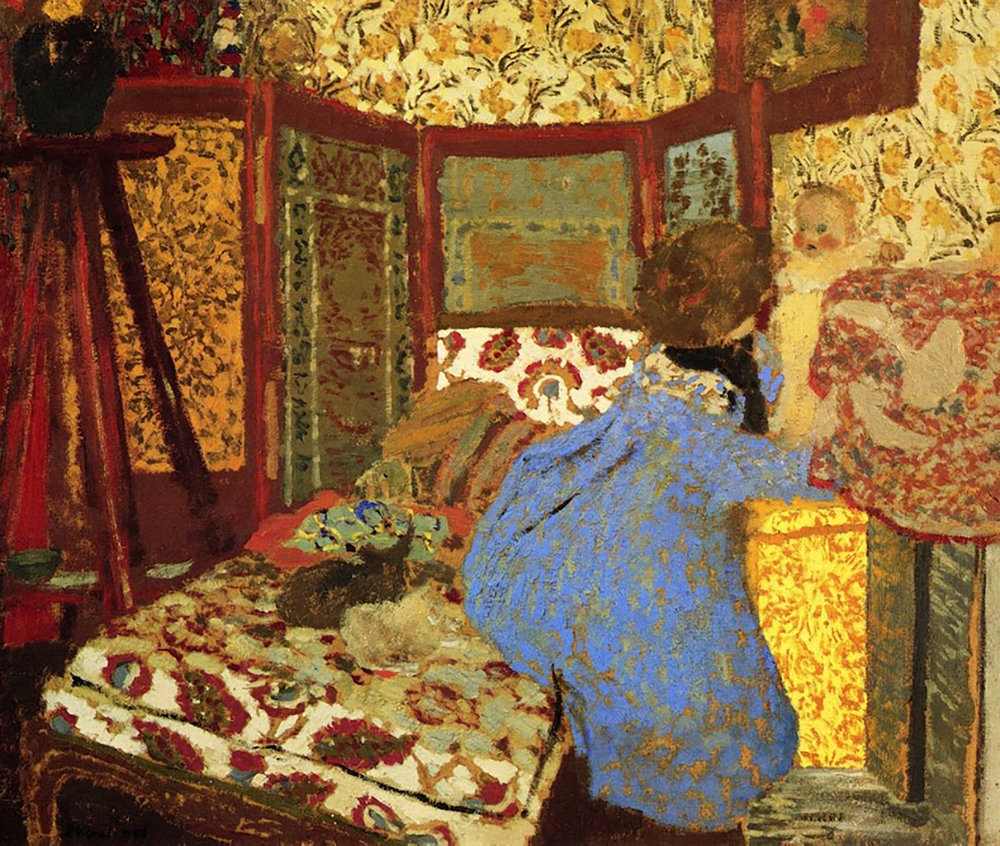 painting by  vuillard