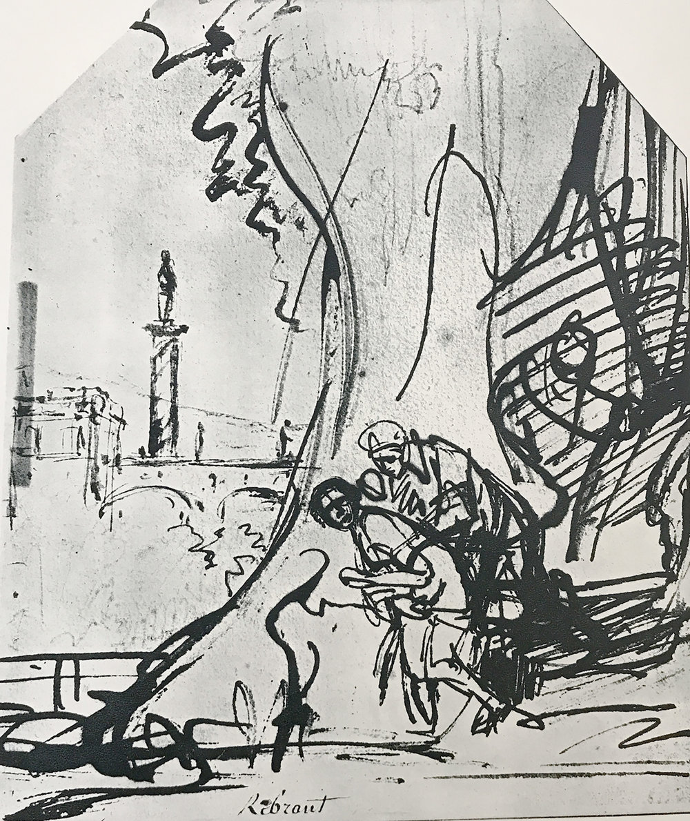 rembrandt: suzanna & 2 elders