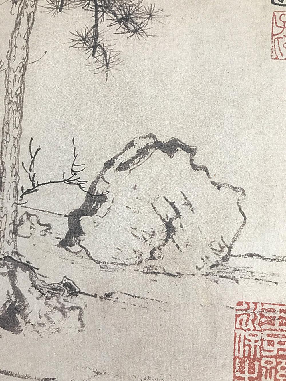zhao mengfu: detail, ca. 1300