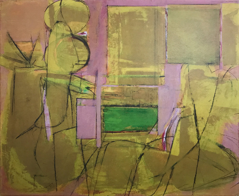 "deKooning, untitled, 1945, 23x29"""