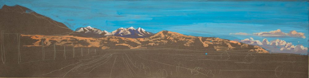View Towards Blanca II  6.75x26 in. 1999 ea. 4x9.5 in.jpg