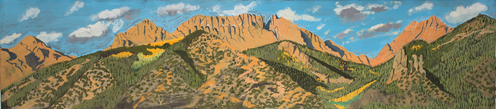 View Towards Sangres III 6.5x28.5 in. 2001.jpg