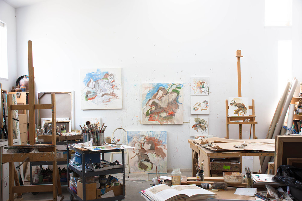 my studio at 10 am this morning, with the new  motion 16  on the wall
