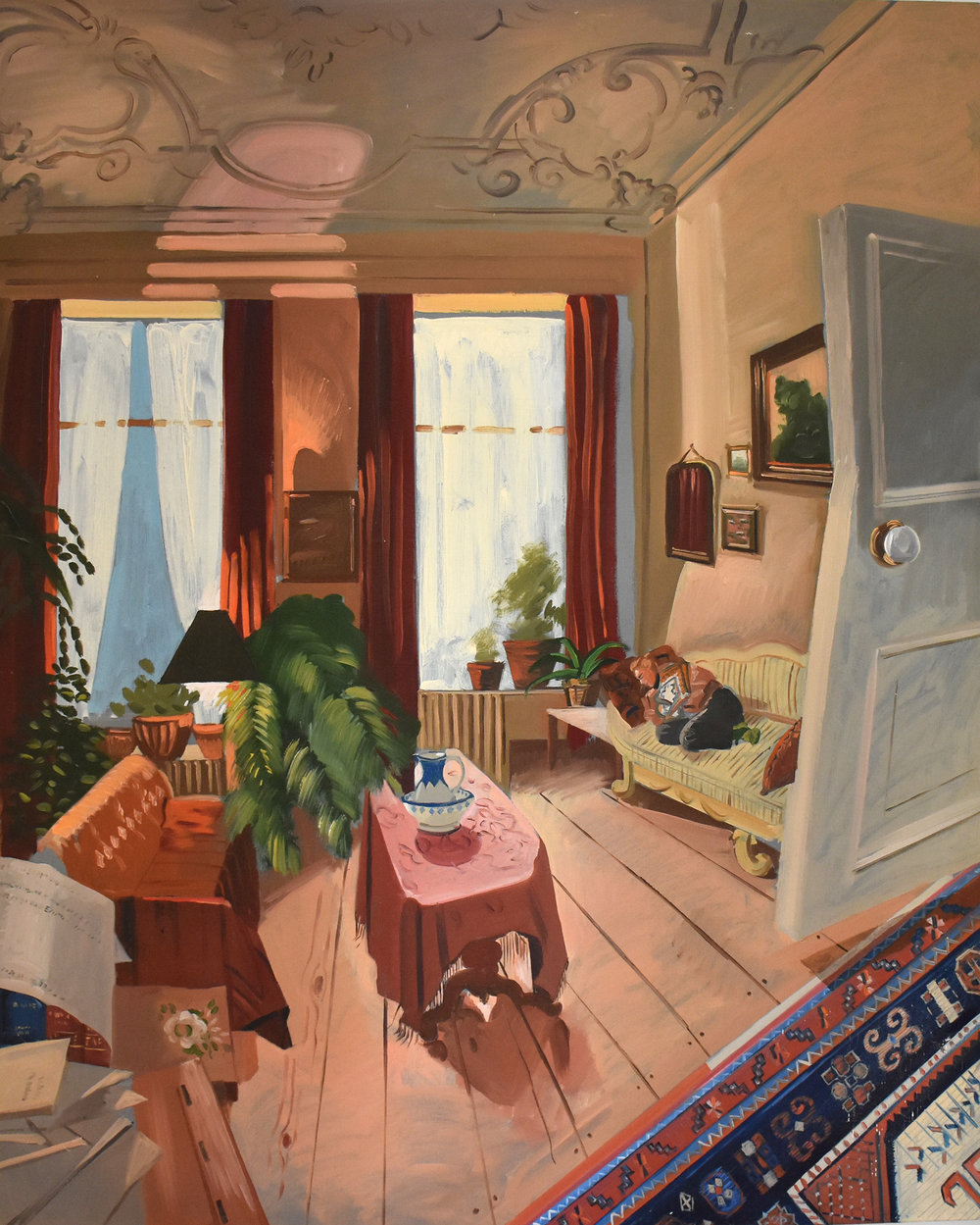site-1999 maarssen interior-karen sleeping 42x40 in..jpg