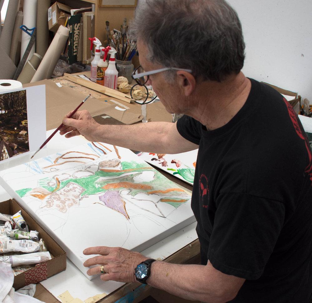 SITE-5-29-18 2 PT paints studio creek-scape 12-30pmoil 1 pm.jpg