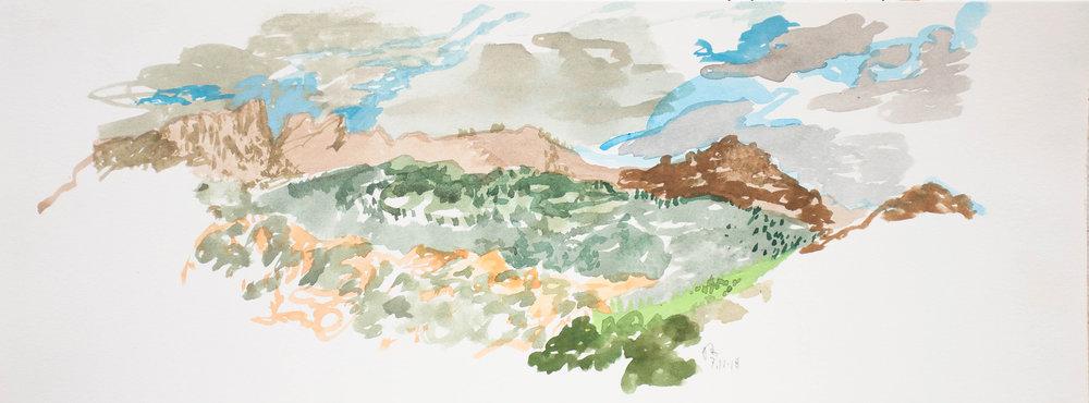 """philip's landscape 6x15.75"""""""