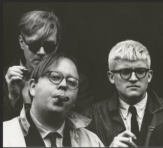henry with david hockney