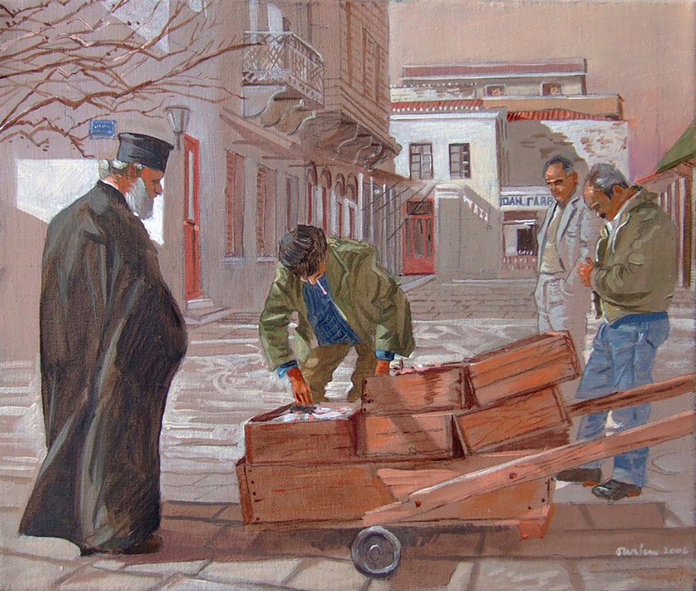 SITE-Papayannis buys fish in the square.jpg