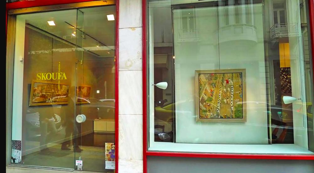 skoufa gallery  during my 2010 solo exhibition