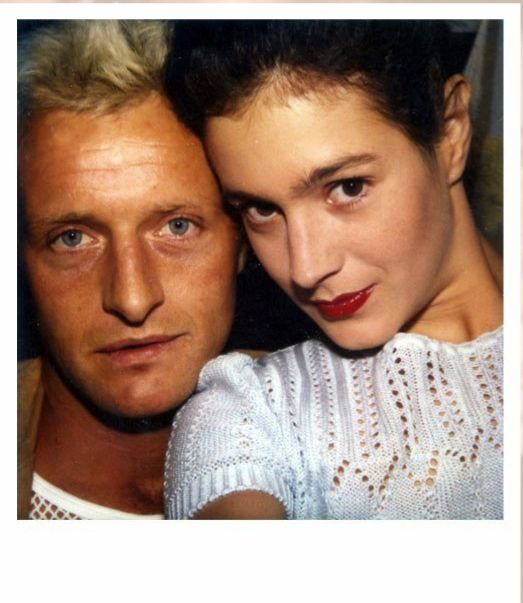 SKINJOBS FTW     All these moments will be lost in time, like tears in the rain…    Rutger Hauer & Sean Young capture a moment in time on the set of Blade Runner circa 1981.   (via the super rad  FADwebsite )