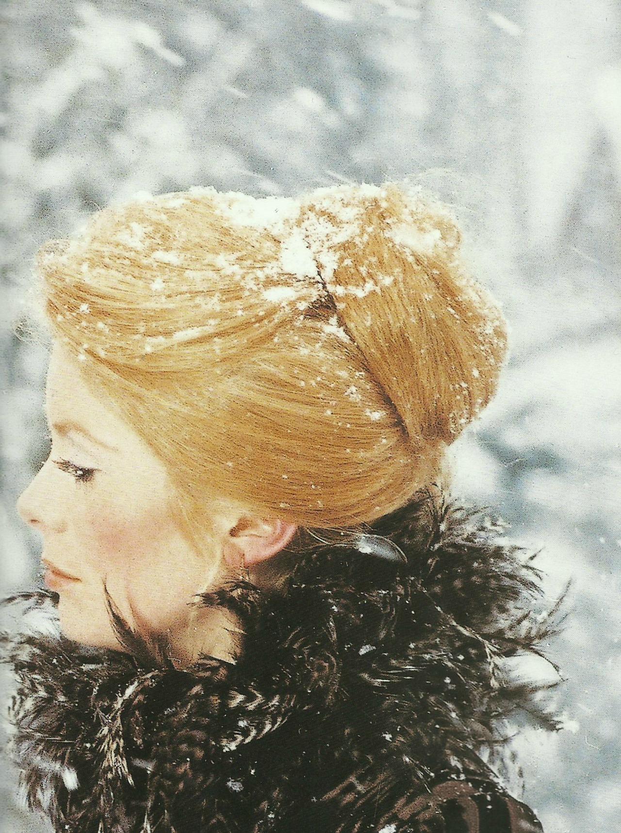 Catherine Deneuve in a still from La Sirene Du Mississippi [Mississippi Mermaid] (1969)    Dir: François Truffaut