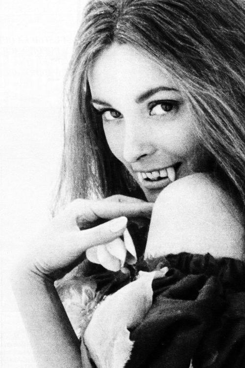 beautyandterrordance :      Sharon Tate on the set of   The Fearless Vampire Killers  ( 1967 )  ( via ), via vintagegal .