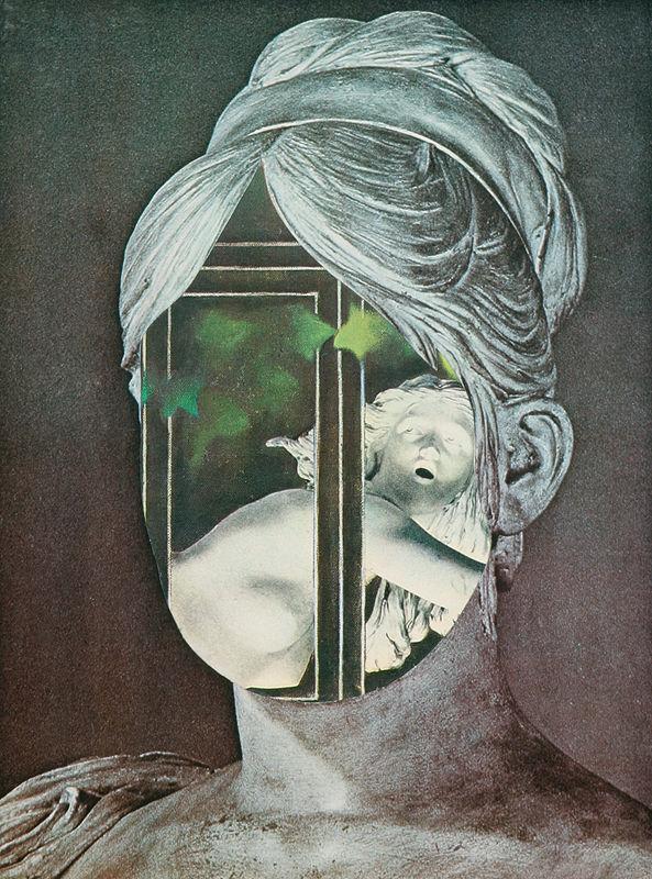 Hlava, Hlava by Jiří Kolář (1989)