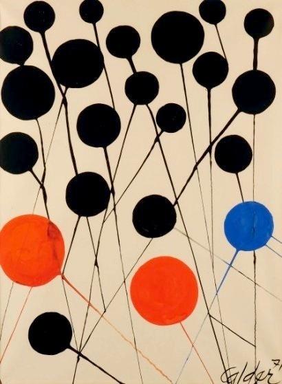 Ballons by Alexander Calder (1971)