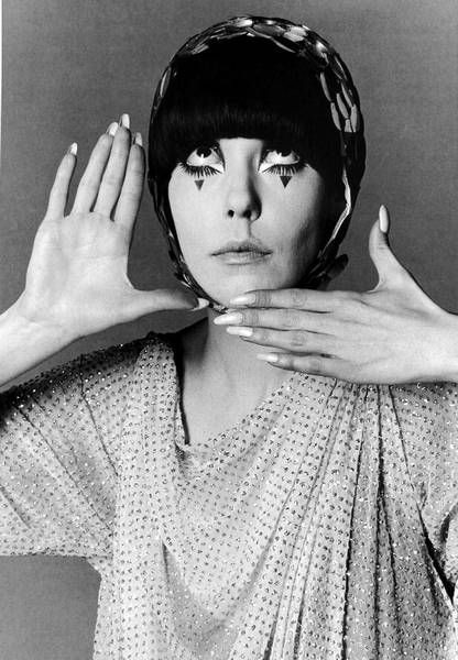 Peggy Moffitt by William Claxton