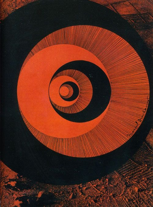 Rotorèlief by Marcel Duchamp