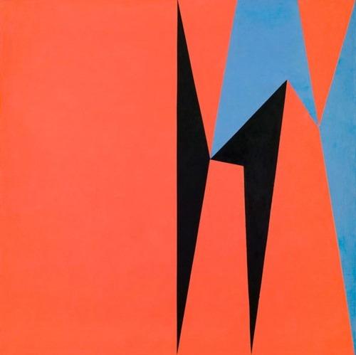 Dichotomic Organization by Lorser Feitelson (1959)    Dichotomy is a great word for such a seemingly illogical, but nonetheless, pervasive concept.