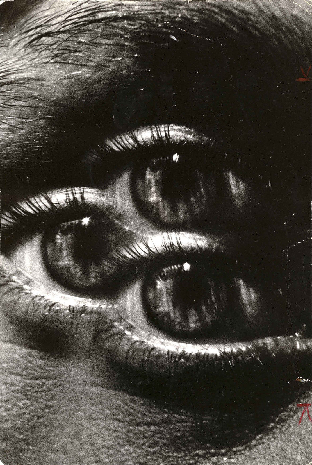 Triple Eye by Jeanloup Sieff (1972)