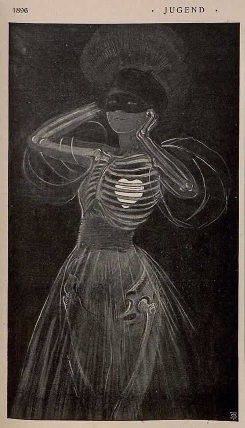Illustration from Jugend magazine (1896)