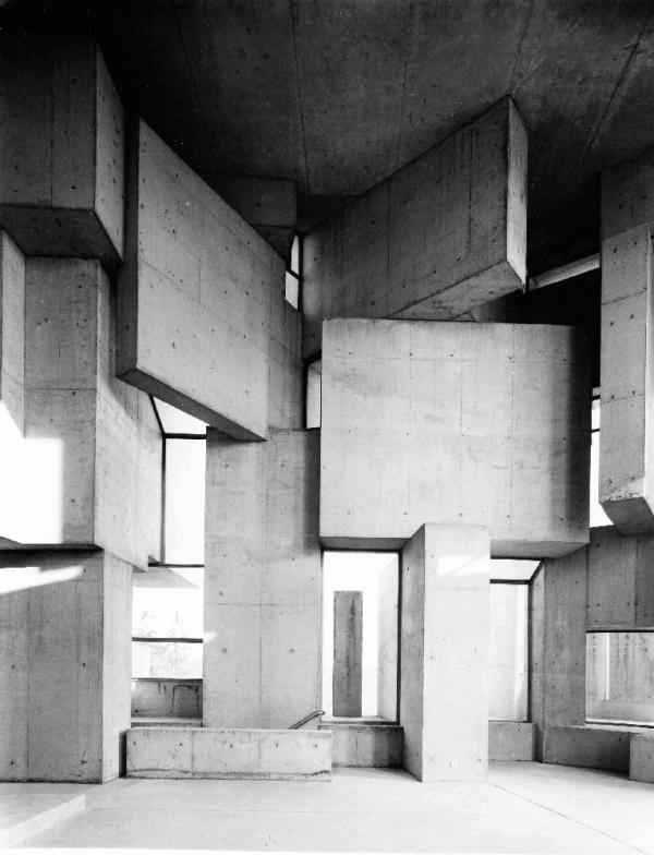 Wotruba Church, Vienna by Fritz Wotruba (1976)