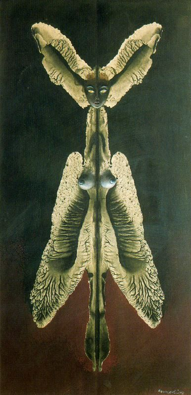 Female spirit of the night by Remedios Varo