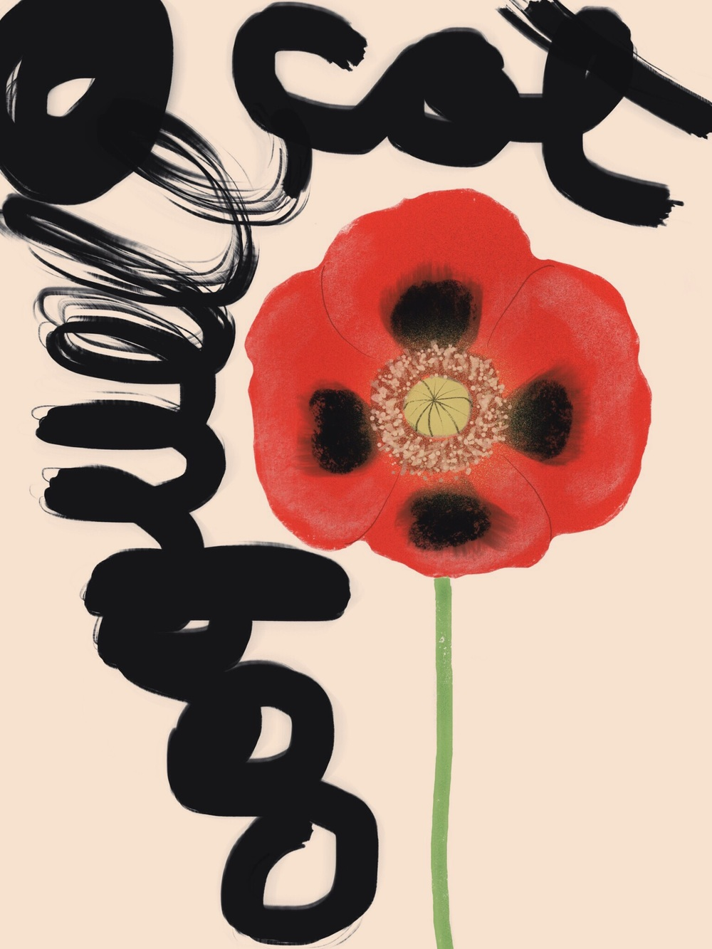 Coquelicot by Eve Badía (2016)