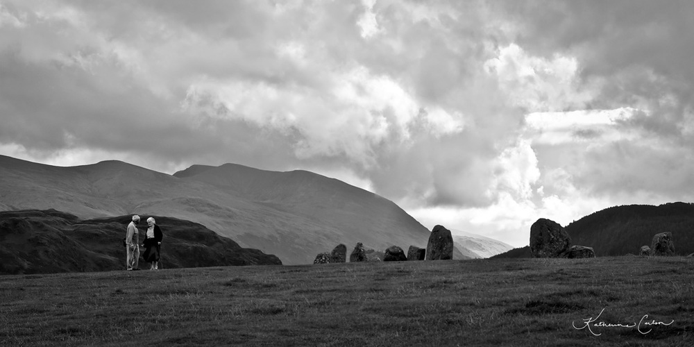 Castlerigg Stone Circle. Click to Enlarge. Copyright Katherine L. Carlson, All Rights Reserved.