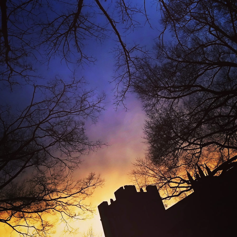 Sunsets and Parapets, Duke University