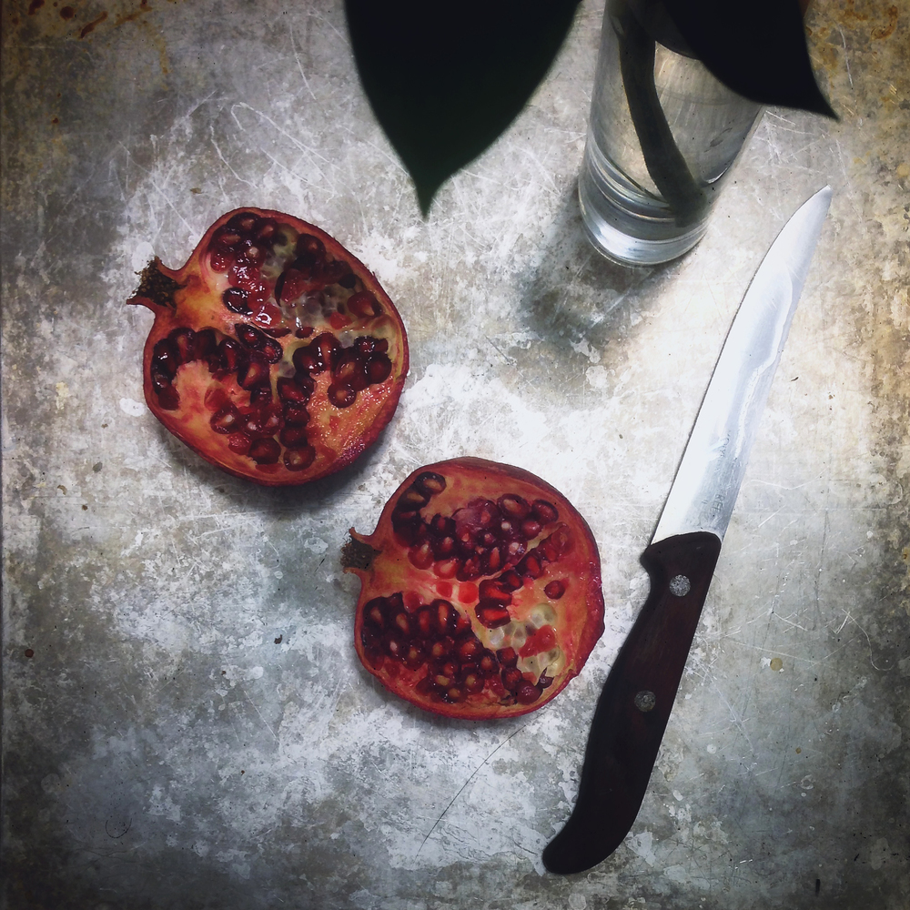 Pomegranate and Patina