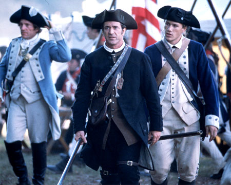 Mel Gibson as Benjamin Martin in The Patriot