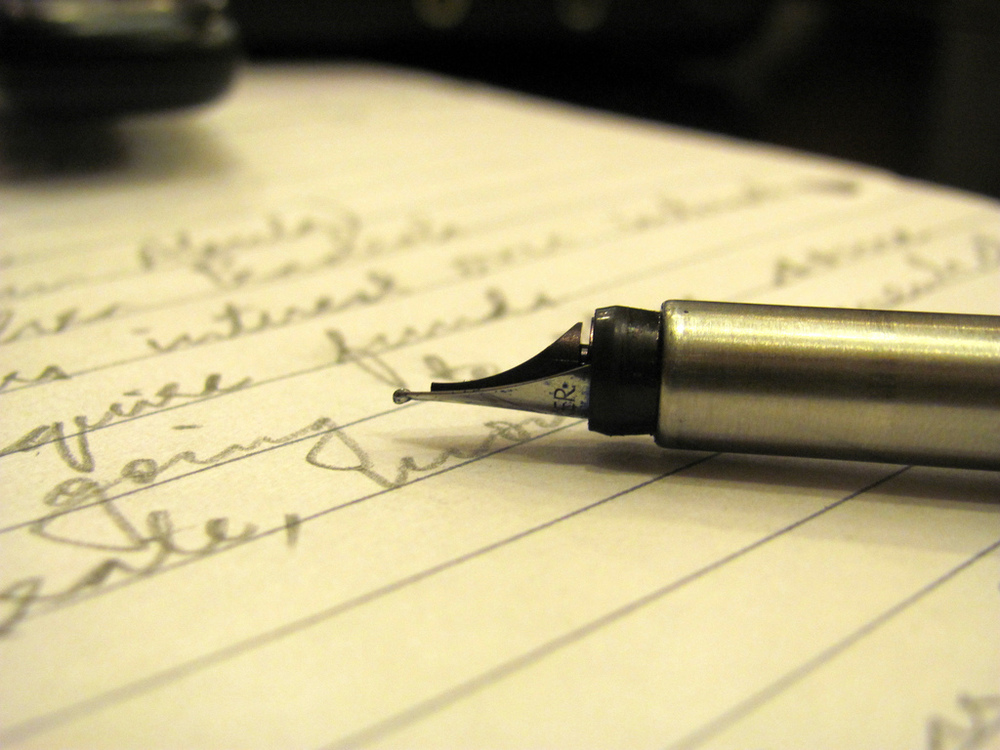 You only have one story to write and the pen is in your hand