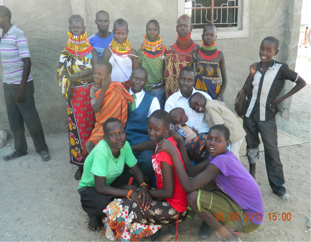 Church Members from the CRIO church in Turkana, Kenya