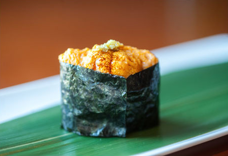 The Bold Italic - Chef Tim's Uni Nigiri featured in Uni is the New Foie Gras