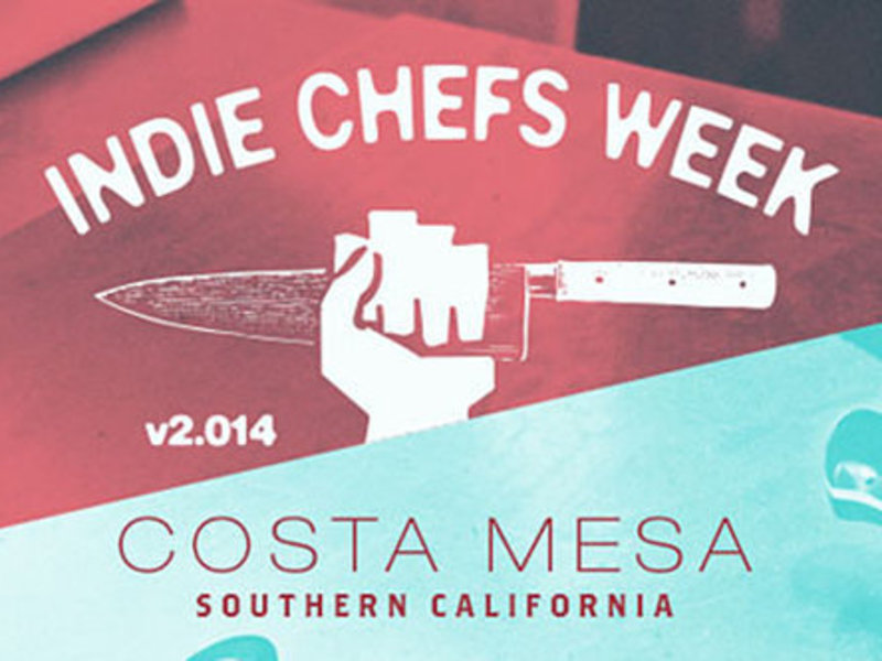 Eater — Indie Chefs Week Orange County; Pépin's New Show