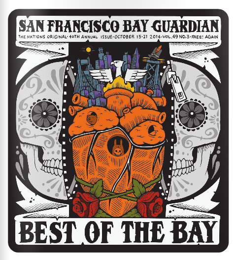 San Francisco Bay Guardian final issue — Best Sushi Reader's Choice Poll Winner