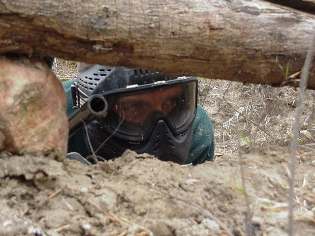 Paintball hideout