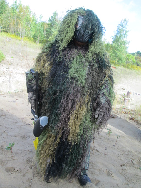 Great Paintball Camouflage