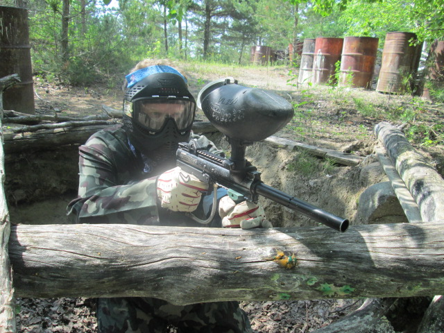 A good paintball aim