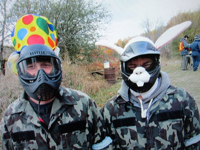 Funny Paintball Games