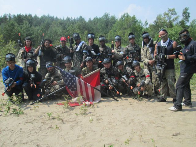 Paintball victory