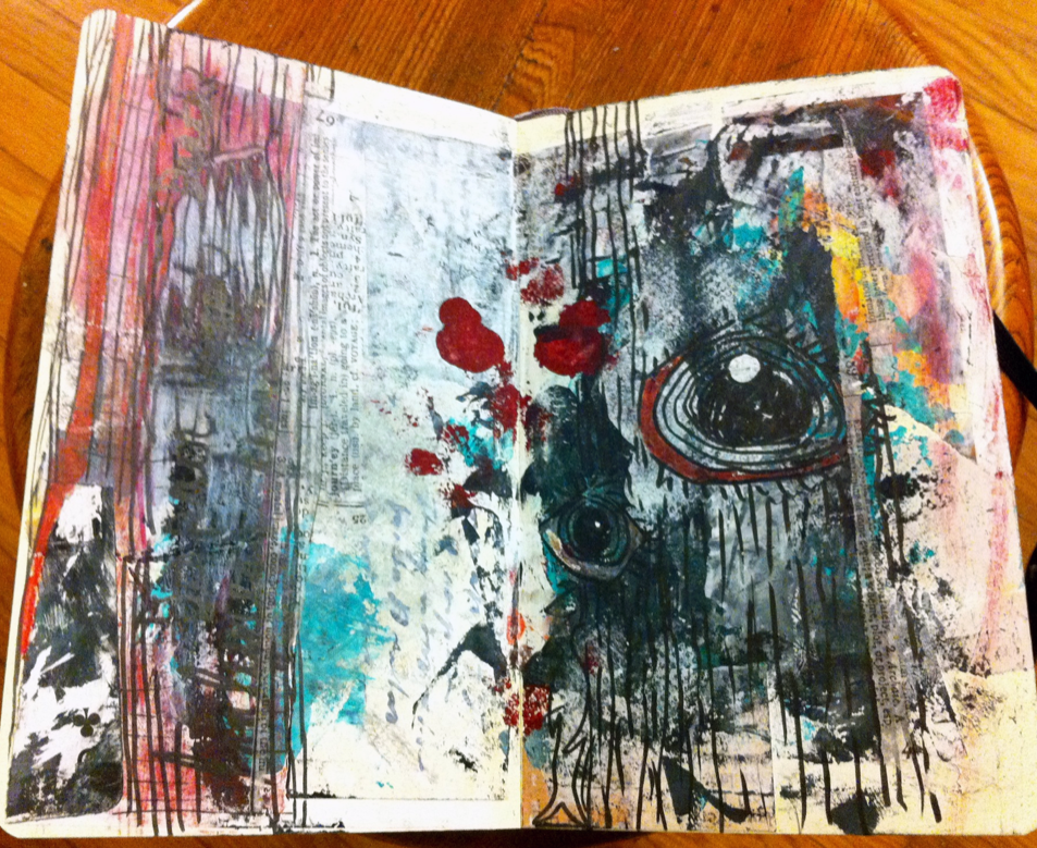 Mixed-Media Sketchbook